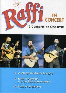 Amazon.com: Raffi in Concert: Raffi, Dennis Pendrith, Nancy Walker, Bucky Berger, Mitchell Lewis, David Devine: Movies & TV