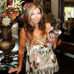 Amie and Tullulah. Who has a dog that rocks their world? #AlwaysTogether #FlippingVegas #ScottYancey