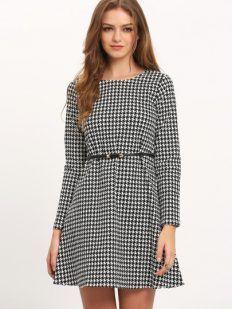 Trench Coat & Polka Dot Dress - Tina Chic