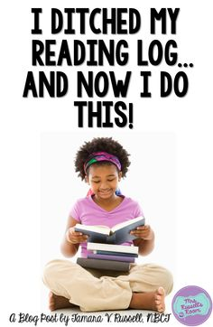 I ditched my reading log and now I do this… Reading Homework, Reading At Home, Reading Logs, 3rd Grade Reading, Reading Response, Reading Intervention, Guided Reading, Teaching Reading, Kindergarten Reading Log