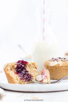 Gesunde Marmeladen-Muffins