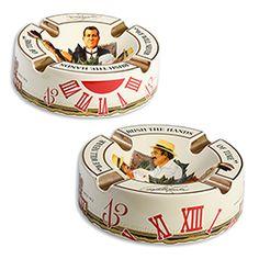 Arturo Fuente Ceramic Cigar Ashtray - Accommodates 4 Cigars