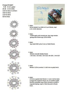 Three dimensional bead pattern