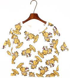 #T-shirt #garfield #fashion #truefashion