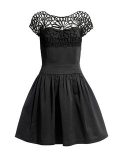 "I was flipping through a slideshow thinking about something totally off topic and this dress caught my eye. ""So cute!"""