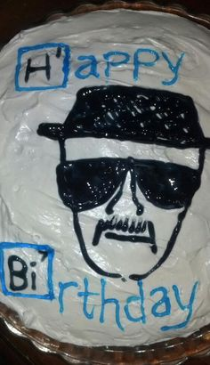 How to make a 'Breaking Bad' cake!