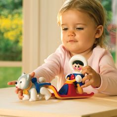 Sledge Set - First Friends - Shop - Tolo Toys   Award winning educational toys for infants.