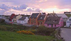 Lovely little cottages in Doolin Ireland.