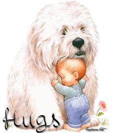 Hugs <3 pin from my friend Pamela