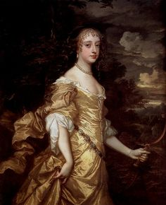 1662-1665 Frances Teresa Stuart, Duchess of Richmond and Lennox by Sir Peter Lely (Royal Collectiom)