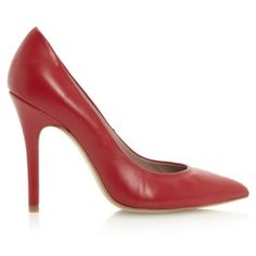 ALVINO - Pointed Toe Court Shoe by Dune London #dunelondon #dune #heels #courts #shoes #point #footwear #fashion #style #red #aw13
