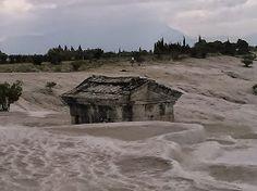 Amazing calcium carbonate rock Pamukkale, Calcium Carbonate, Roman, Greek, House Styles, Amazing, Greece