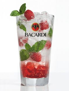 New favorite drink: Bacardi Razz Mojito