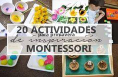 Aprendiendo con Montessori: 20 actividades para Primavera de inspiración…