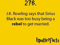 Harry Potter Facts Sirius Black