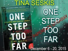 Tome Tender: Tina Seskis One Step Too Far Giveaway Winners! All...