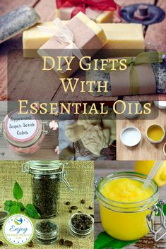 This Christmas season, do something different for your gift giving: These homemade gifts with essential oils make the perfect presents for everyone on your list without breaking the bank.