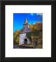 Fine art photography Rustic landscape photography Chapel