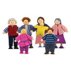 Melissa and Doug Doll Family - 2464