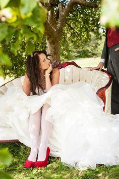 Couch Wedding Photo Idea Photo By B. Jones Photography