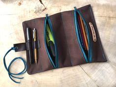 Federmäppchen - Ferdetasche·☆·Mäppchen aus Segeltuch - ein Designerstück von Chiquita-Jo bei DaWanda