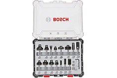Estas fresas para router Bosch Profesional consta de 15 piezas de ranuración, rebaje y perfilado... Music Instruments, Red, Roll Forming, Strawberry Fruit, Wood, Musical Instruments
