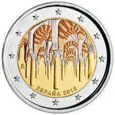 moneda conmemorativa 2 euros España 2010 Cordoba (II). Color