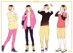 Tags: Fanart, Hair, Pixiv, Yasai Getsu, Fanart From Pixiv, Haikyuu!!, Kozume Kenma