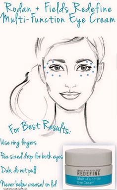 If you are looking for an anti-aging product to help with fine line and wrinkles then you are going to want to check out Rodan + Fields Multi-Function Eye Cream!