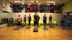 Zumba Step Salsa - Vivir Mi Vida Zumba For Beginners, Belly Dancing For Beginners, Belly Dancing Classes, Step Aerobic Workout, Aerobics Workout, Zumba Fitness, Dance Fitness, Zumba Videos, Workout Videos