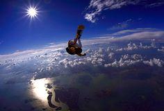 Sky diving :D