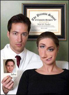 Picasso humor. Clínica de cirugía plástica Picasso