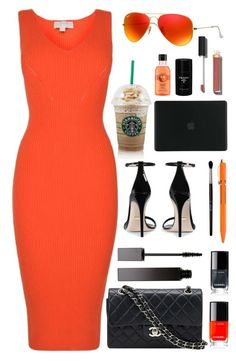 """""""summer"""" by anabelisstyle ❤ liked on Polyvore featuring MICHAEL Michael Kors, Gucci, Chanel, Handle, Serge Lutens, Tucano, Ray-Ban, Hightide and Prada"""