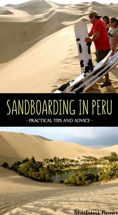 Imagine a massive sandbox overlooking an oasis with lush palm trees, restaurants and cozy cafes. Add a few sandboards and buggys, adventure-seekers driving to the top of the steep, high slopes and boarding all the way to the bottom. Here's why you should try sandboarding in Peru, including tips and advice!