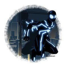 Big Time Spider-Man (blue)