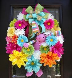 10 DIY Easter Craft Wreaths