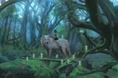 Princess Mononoke by Atey GhailanHey everyone this is the last for for the mini series in for the studio ghibli theme i wanted to do hope you enjoy the episode! Sac Tods, Mononoke Forest, Mononoke Anime, Manga, Studio Ghibli Art, Anime Princess, Ghibli Movies, Girls Anime, Kawaii