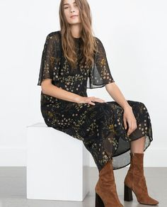 I want this for FALL -- PRINTED DRESS