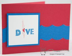 Undefined Take 1: In The Swim Stamp 2 Undefined: The Swim Stamp Set, Joanne James UK Stampin' Up! Independent Stampin' Up! Demonstrator, blog.thecarftyowl.co.uk