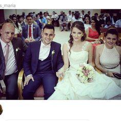 Our wedding in Cyprus Nicosia Kingdom Hall..05.07.15 @sotiris_maria thank you