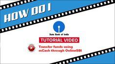 SBI INB: Transfer/ Send money through mCASH using OnlineSBI #SBI #HowDoI #tutorial #mCASH
