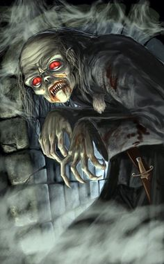 Horror Pictures, Horror Pics, Day Walker, Zombie Monster, Creatures Of The Night, Love Monster, Vampires And Werewolves, Vampire Art, World Of Darkness