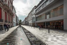 Redesign_of_Stationsstraat-by-Grontmij_Belgium-05 « Landscape Architecture Works | Landezine