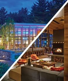Check into The Topnotch Resort, a gorgeous hotel tucked away in Stowe, Vermont.