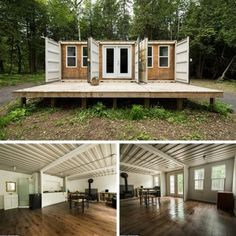 LOVELY OFF-THE-GRID SHIPPING CONTAINER HOME