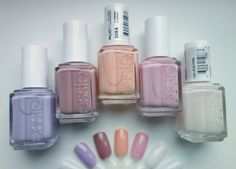 collection: my essie nail polishes
