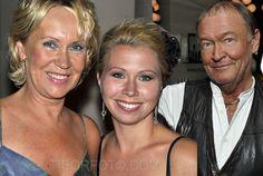 Linda Ulveus with her Mom Agnetha Fältskog