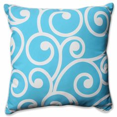 Best Turquoise 25-inch Floor Pillow