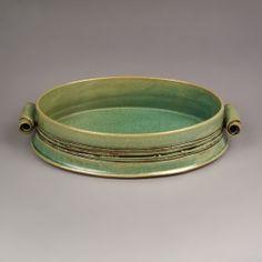 Green Casserole by Yael Shomroni Pottery