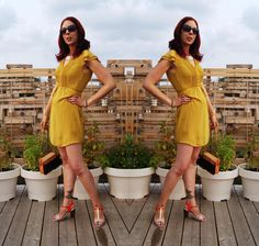 Feeling pretty in falls hottest colour - mustard yellow!: http://www.thepurplescarf.ca/2014/09/fashion-my-style-mustard-yellow-warmth.html #fashion #style #styletips #H&M #outfit #OOTD #toronto #thepurplescarf #melanieps #mystyle